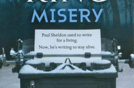copertina libro misery di stephen king