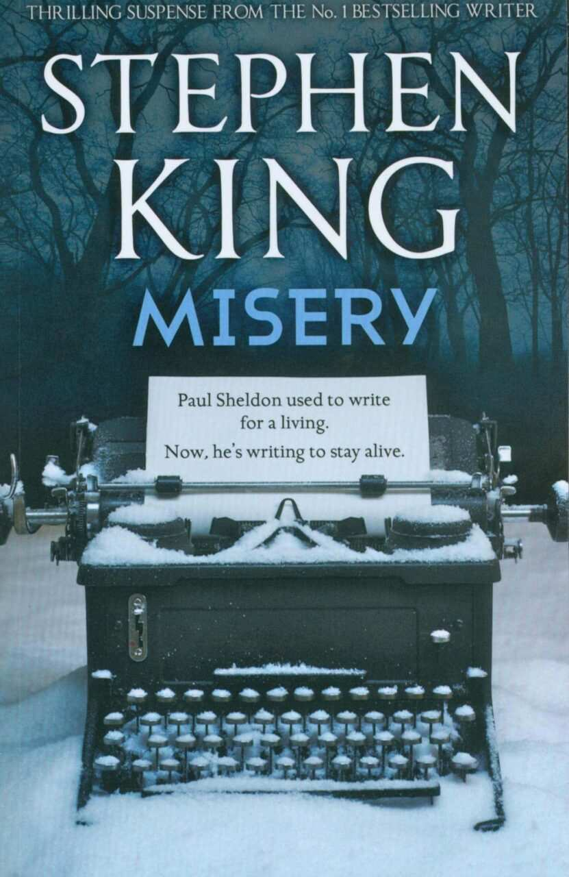 copertina libro misery  di stephen king