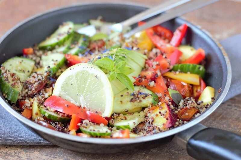 Ricette con la quinoa 800x533 - Ricette con la quinoa, facili e veloci e naturali