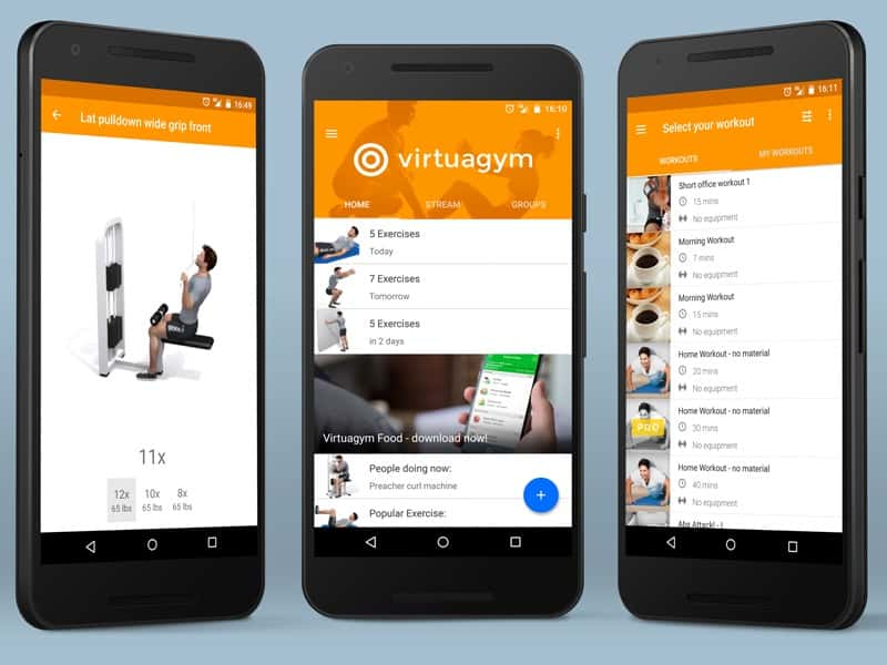 Virtuagym Fitness - 10 App gratis per fare sport in casa post Covid19