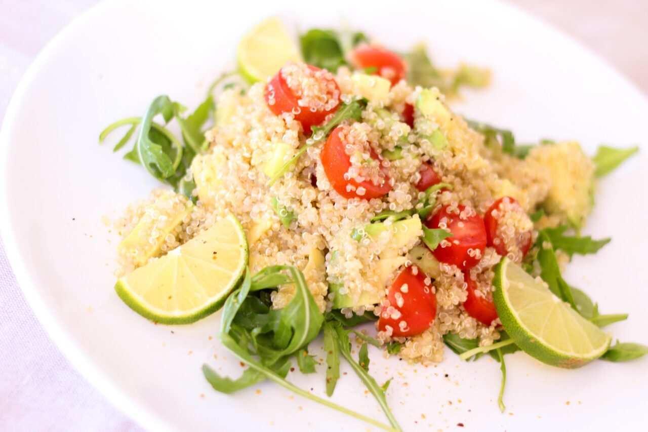 insalata con la quinoa