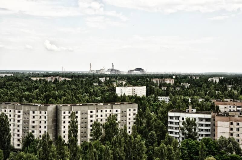 pripyat panoramica città centrale 800x531 - Chernobyl e Pripyat, quando saranno abitabili e perché si può vivere a Hiroshima?