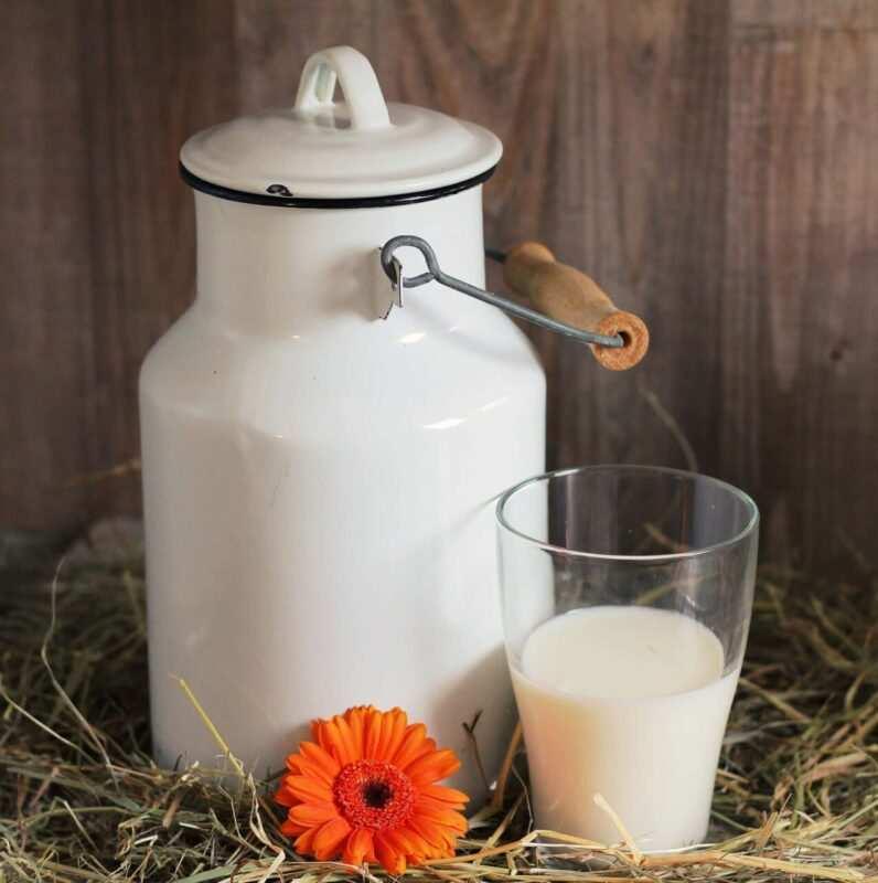 latte fresco scaled 796x800 - Golden milk: la bevanda d'oro con la Curcuma - la ricetta