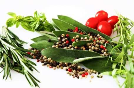 erbe aromatiche rosmarino salvia basilico pomodori