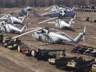 gli elicotterei dei liquidatori di chernobyl 323x242 - Speciale Chernobyl