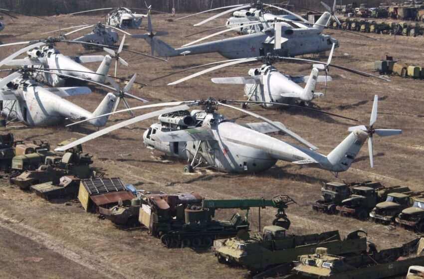 Chernobyl e il cimitero dei rottami radioattivo