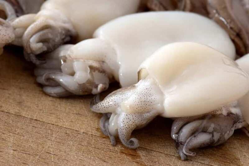 seppie fresche 800x534 - Pasta ai frutti di mare: gamberoni e seppioline