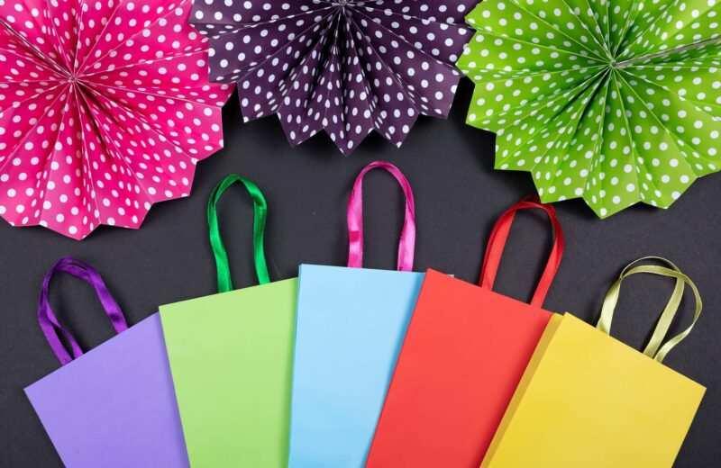 shopper di carta ecologiche 800x520 - Per un futuro sostenibile scegli le shopper di carta