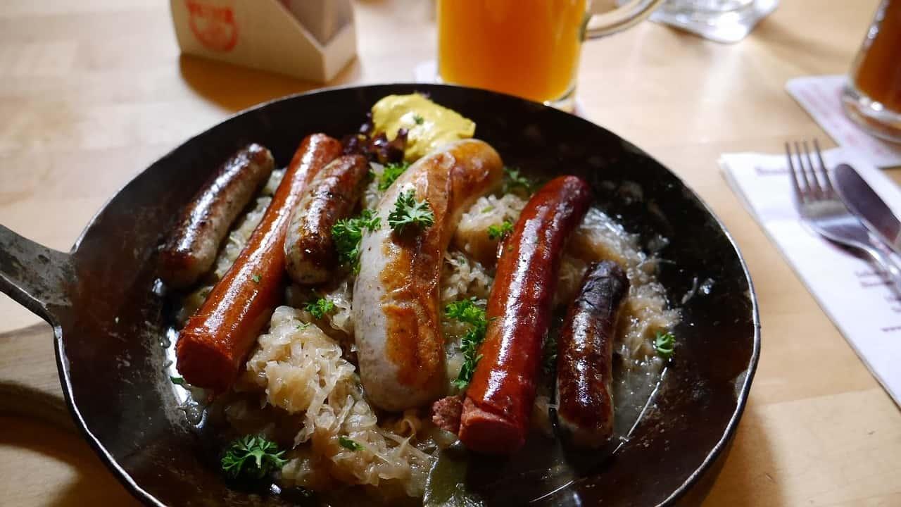 piatti tipici tedeschi - Dall'antipasto al dolce, i 10 piatti tipici tedeschi