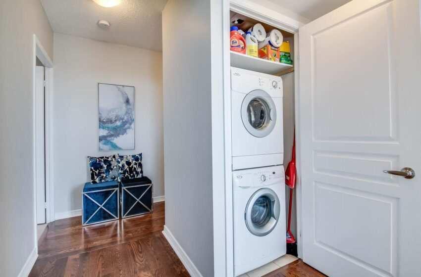 Laundry room, come organizzare al meglio il locale lavanderia